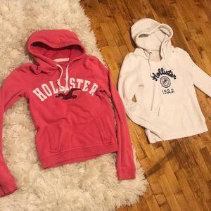 Hollister sweatshirts size large lot